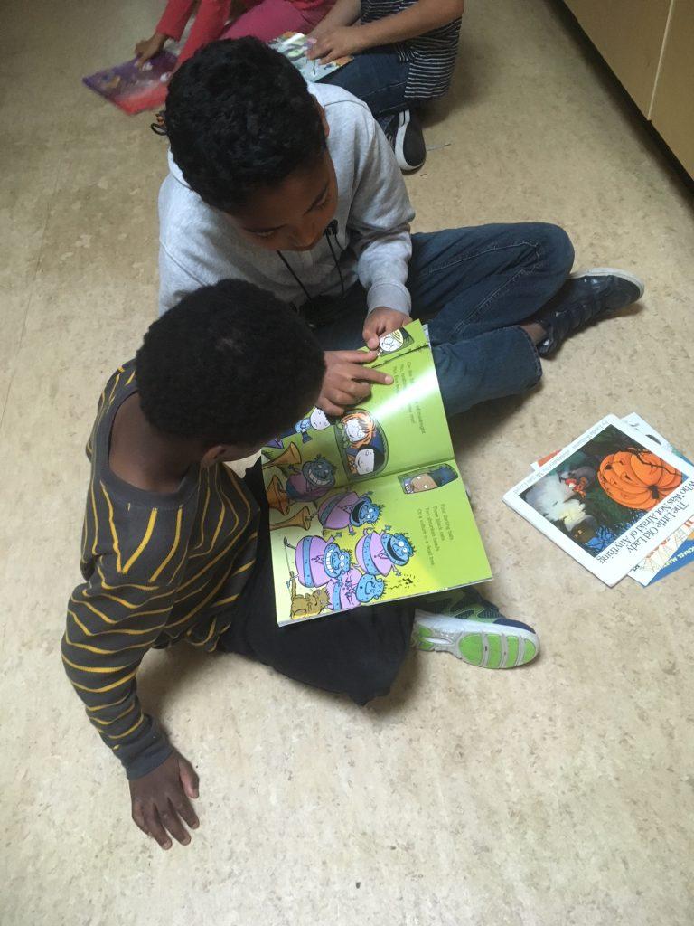 Reading at Alexander Elementary