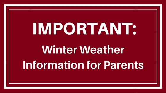 Winter Weather Information