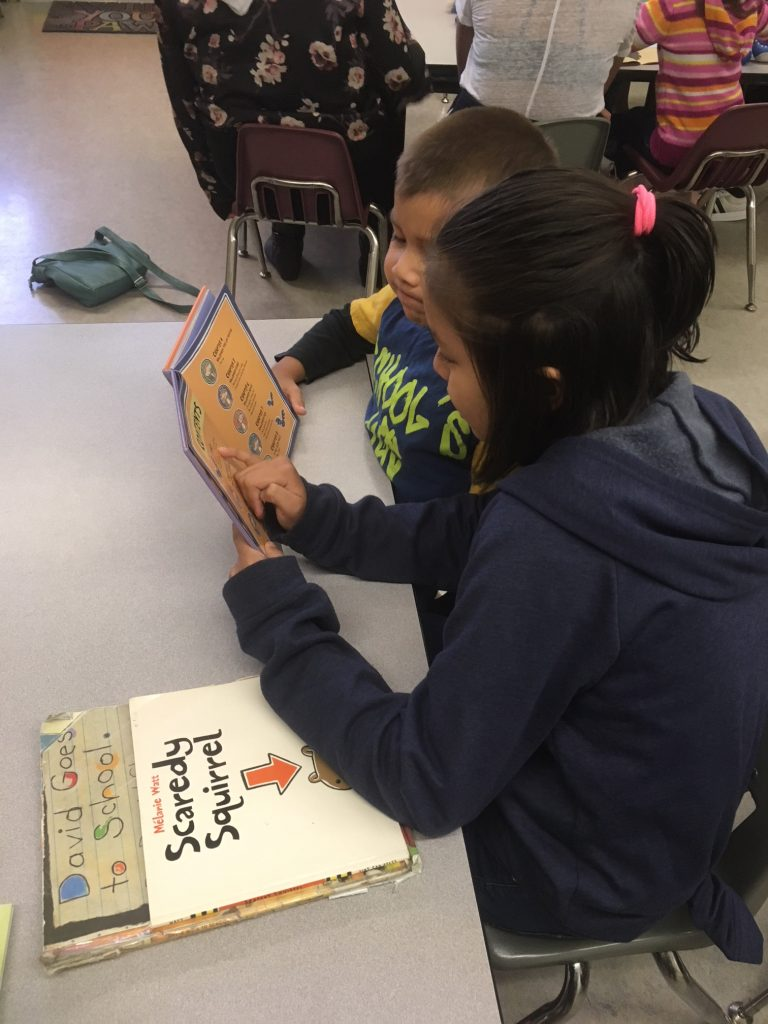Reading at Alexander Elementary