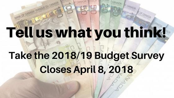 Budget Survey Open