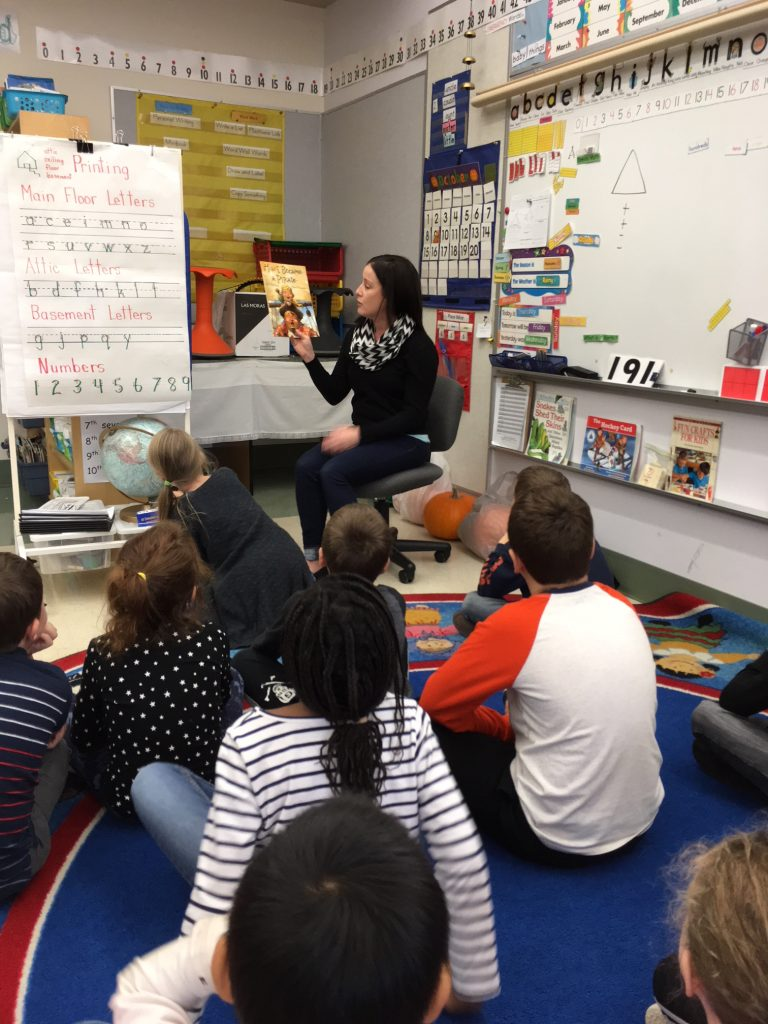 Reading at Maple Bay Elementary