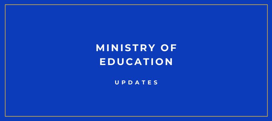 Ministry Updates